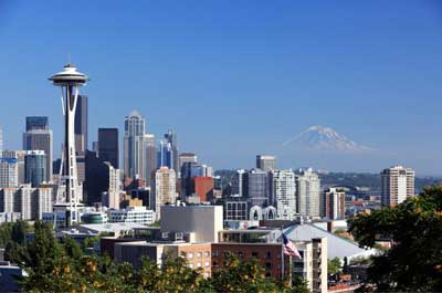 Sightseeing: Space Needle and Pike Place Market